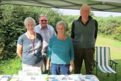 ENHS Stand a EPA's North Hill WW -event: by James Windle