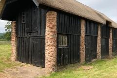 Restored Barn at Allerford: C Tickner
