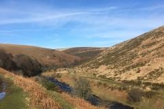 C.Tickner: River Barle below Simonsbath