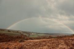 Rainbow over Wilmersham farm@lan Hart