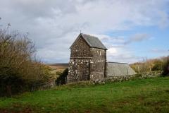 Stoke Pero church@lan Hart