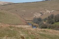 Two Moors Way near Cow-Castle:lan Hart