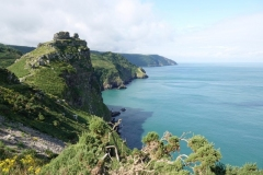 View to west at Valley of Rocks by Ian Hart