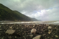 Sian Parry: Exmoor Coast from Gore point