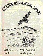 Exmoor Naturalist No 1